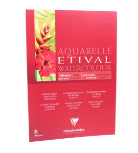Bloco Para Aquarela Etival A3 200g Clairefontaine
