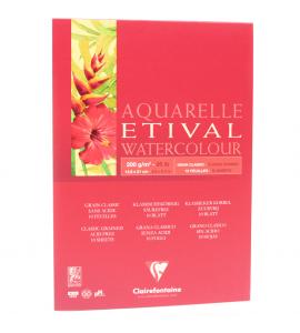Bloco Para Aquarela Etival A5 200g Clairefontaine