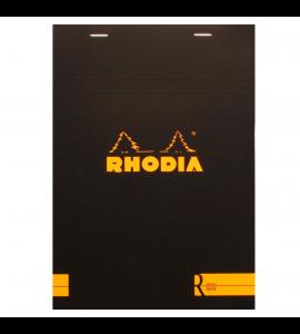 Bloco de Papel Para Desenho e Notas Rhodia A5 N°16 Capa Preta