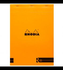 Bloco de Papel Para Desenho e Notas Rhodia A4 N°18 Capa Laranja