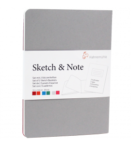 Bloco Papel Sketchbook 2x & Note Hahnemühle A6 10628890
