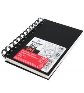 Bloco de Desenho Canson Sketchbook Espiral ONE A4 21,6x27,9cm