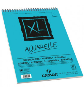 Bloco de Papel Para Desenho Canson XL Aquarelle 300g/m² A3