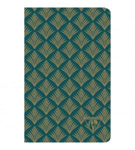 Bloco de Notas Clairefontaine Neo Deco 11x17cm Vegetal