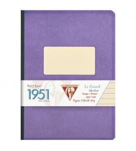 Caderno Pautado 1951 Clairefontaine A5 Roxo