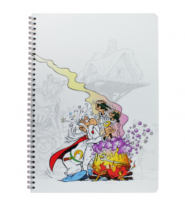Caderno Clairefontaine Asterix Panoramix A4