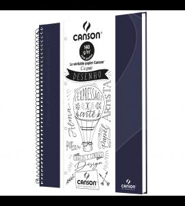 Caderno de Desenho A4 Azul Canson 40 Folhas Universitário