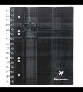 Caderno Quadriculado Bind'O Block Clairefontaine A5+ Preto
