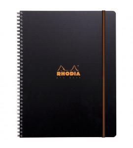 Caderno Pro Book Rhodia Capa Preta A4+