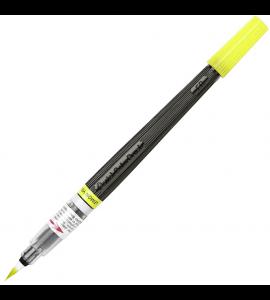 Caneta Ponta de Pincel Aquarela Color Brush Pentel yellow 105