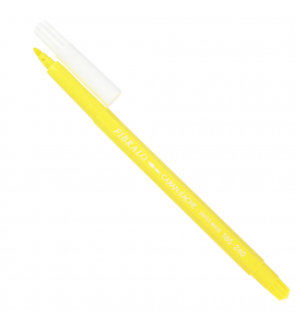 Caneta Aquarelável Caran d'Ache Fibralo Amarelo Claro