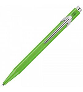 Caneta Caran d'Ache Esferográfica Popline 849 Fluo Verde