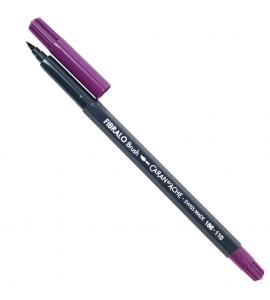 Caneta Caran d'Ache Fibralo Brush Aquarelável Violeta