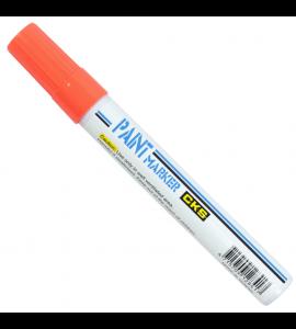 Marcador Paint Marker Industrial CKS Laranja