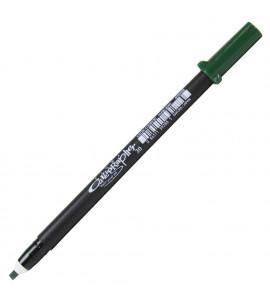 Caneta Sakura Pigma Calligrapher 30 Green
