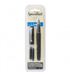 Caneta Tinteiro Luxo Speedball Para Caligrafia 1.1mm