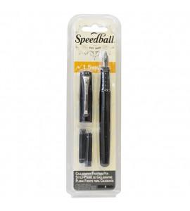 Caneta Tinteiro Luxo Speedball Para Caligrafia 1.5mm