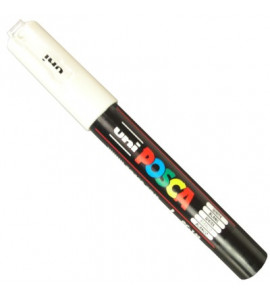 Caneta Posca Uni Ball PC-1MC Branco
