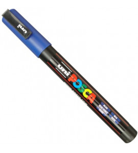 Caneta Posca Uni Ball PC-3M Azul