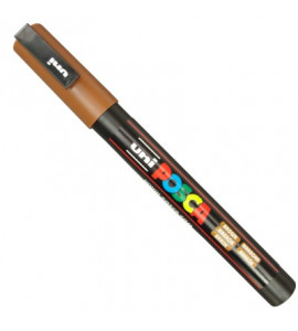 Caneta Posca Uni Ball PC-3M Marron