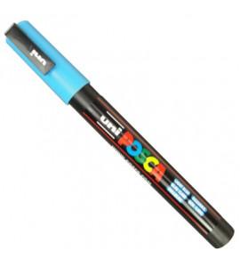 Caneta Posca Uni Ball PC-3M Azul Claro