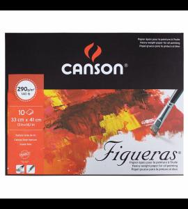 Bloco de Papel Figueras Canson 290g/m² 33x41cm