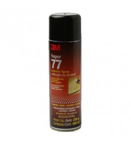 Cola Spray 3M Adesivo Super 77 500ml