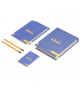 Conjunto The Essential Color Box Rhodia Blue