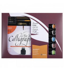 Kit Caligráfico Brause Discovery Box C/13pc