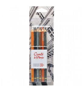 Kit de Lápis Conté à Paris Crayon