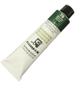 Tinta a Óleo Corfix 120ml 078 Verde Vessie G1