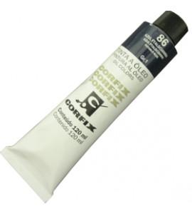 Tinta a Óleo Corfix 120ml 086 Azul Ftalocianina G1