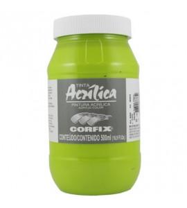Tinta Acrílica Corfix 500ml 77 Verde Ingles Claro