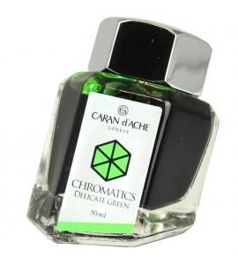 Tinta Caneta Tinteiro Caran d'Ache Chromatics Delicate Green  50