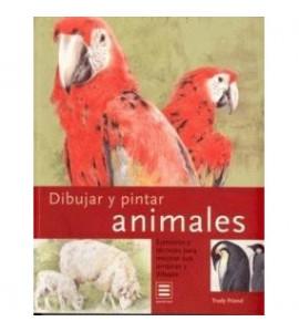 Livro Desenhar e Pintar Animais