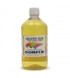 Diluente Óleo Corfix 500ml