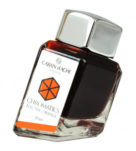 Tinta Caneta Tinteiro Caran d'Ache Chromatics Eletric Orange  50