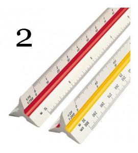 Escalímetro Trident 30cm 7830 2