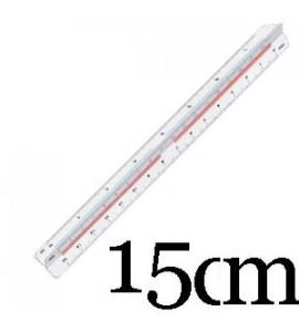 Escalímetro Trident 15cm ME15