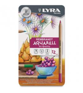Lápis Aquarela Estojo 12 Cores Lyra