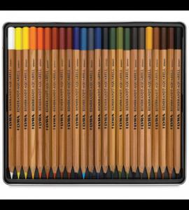 Lápis Aquarela Estojo 24 Cores Lyra