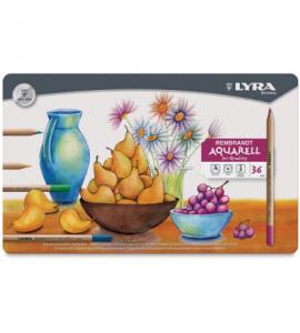 Lápis Aquarela Estojo 36 Cores Lyra