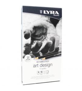 Estojo Lápis Grafite Graduado Art Design Lyra com 12
