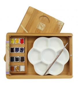 Tinta Aquarela Lefranc & Bourgeois Coffret Natura Box