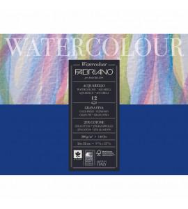 Bloco Fabriano GF Watercolor 300g/m² 24X32cm