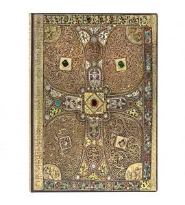 Paperblanks Lindau Gospels Flexível Pautado Midi