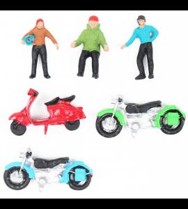 Figuras Para Maquetes 1/100 1600 Minitec 06 Peças