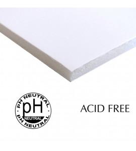 Papel Foamboard Livre de Ácido Branco 70x100cm