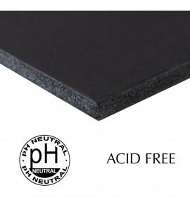 Papel Foamboard Livre de Ácido Preto 70x100cm