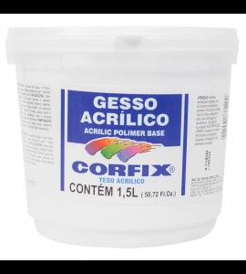 Gesso Acrílico Corfix 1,5L
